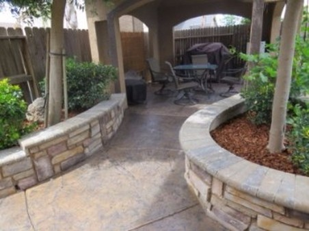 this is an image of el dorado hills california landscaping project