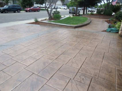 an image of a concrete project in granite bay, ca