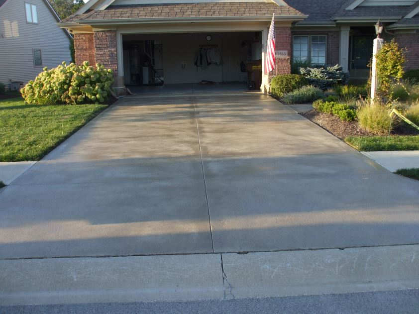 This is a picture of el dorado foundation of concrete in california